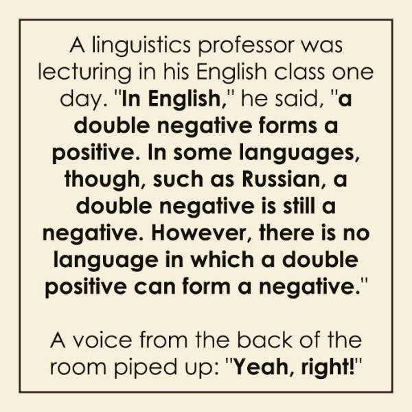 Language Jokes Can Be Funny Too!