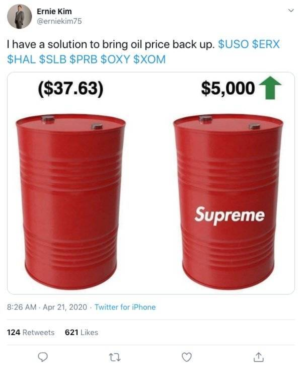 Memes About Falling Cost Of Crude Oil