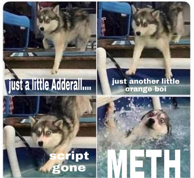 Crystal Tells You To Look At These Meth Memes