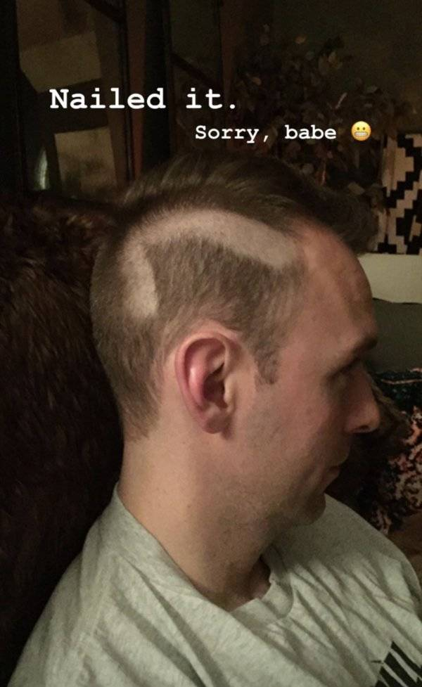 Quarantine Haircuts Are Going About As Well As You Would Expect