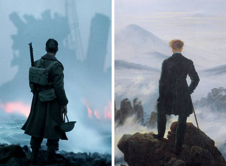 These Movie Scenes Were Very Much Inspired By Art
