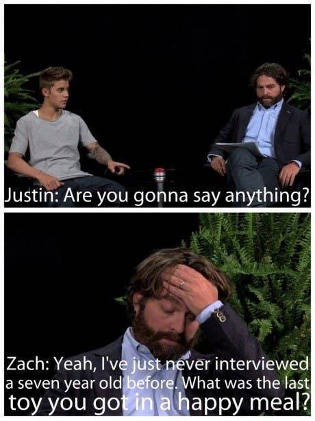 "The Hottest Celebrity Burns From ""Between Two Ferns"""