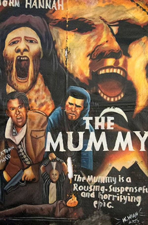 You Won't Be Able To Comprehend These Vintage Movie Posters From Ghana…