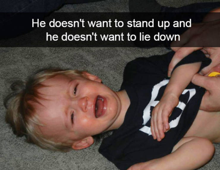Children Cry And Cry… And Cry