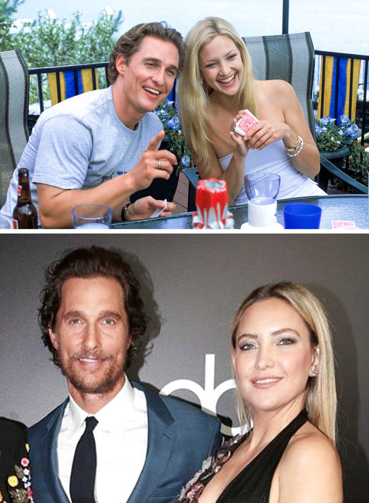 Movie Couples That Met Again, After A Long Time Apart