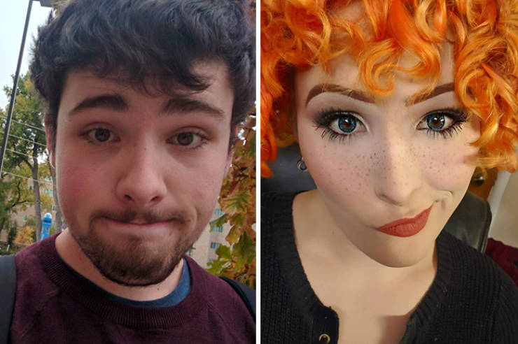 Transgender Shows The Journey From Male To Female Over 2 Years
