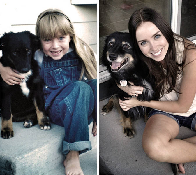 Adorable Photos Of Growing Up Together
