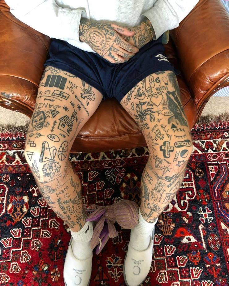 British Guy Is Going To Get A New Tattoo Every Day Until Quarantine Ends
