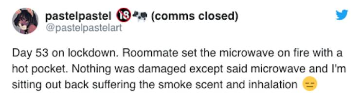 Roommates Who Try To Survive The Lockdown