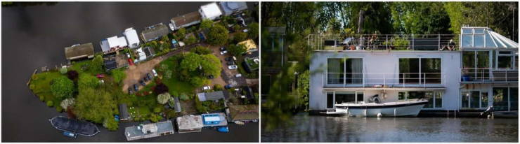 This Tiny Island On Thames Is Where Coronavirus Has No Power