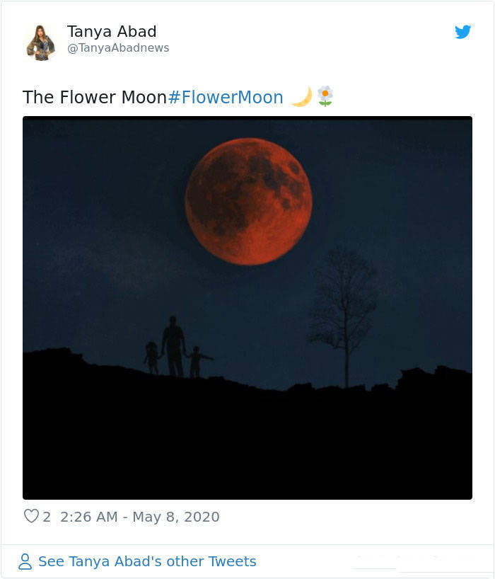 Beautiful Photos Of May's Flower Moon