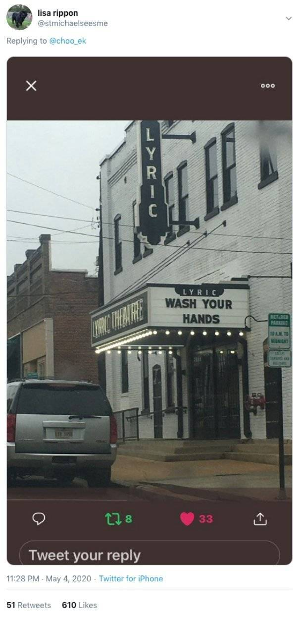 Movie Theaters Use Their Signs To Share Positive Mental Attitude