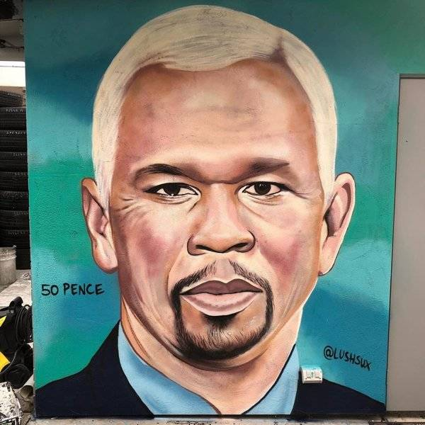 This Australian Graffiti Artist Is Obsessed With 50 Cent!