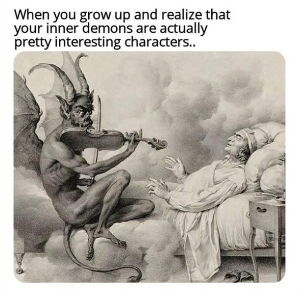 Medieval Paintings Are Just Old School Memes
