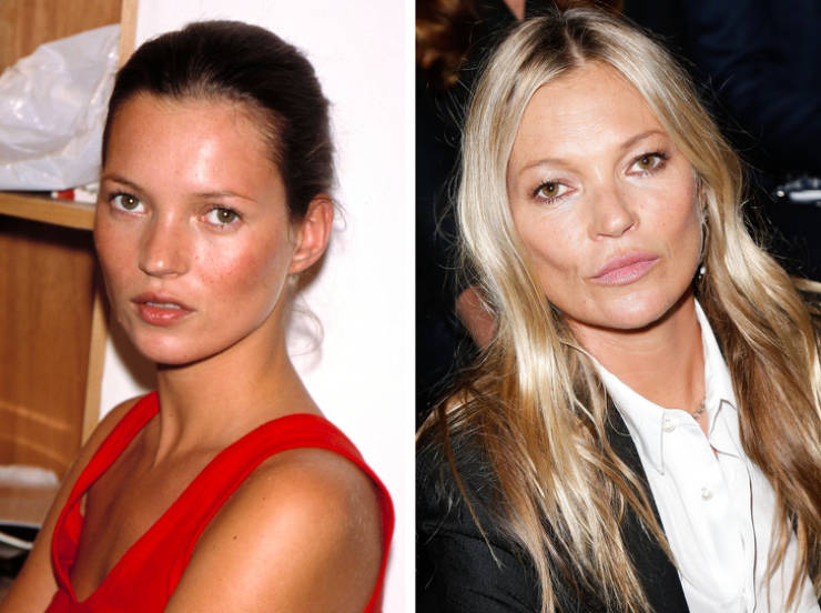 Models From The '90s Then And Now