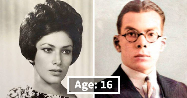 """Photos Proving That People """"Aged"""" Faster In The Past"""