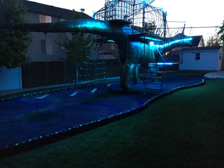 This DIY Playground Is ONLY For Dinosaurs!