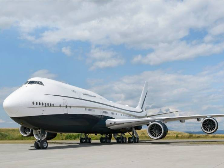 This Is A Private Jet. World's Largest Private Jet