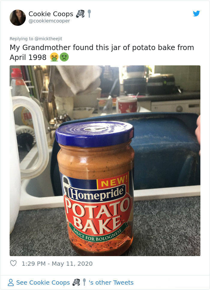 What Are The Oldest Foods You Still Have At Home?