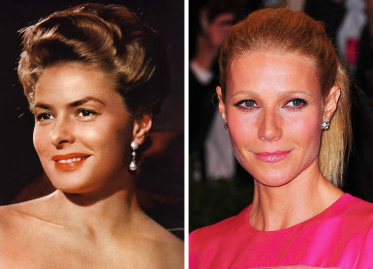 Hollywood Stars Of Different Eras At The Same Age