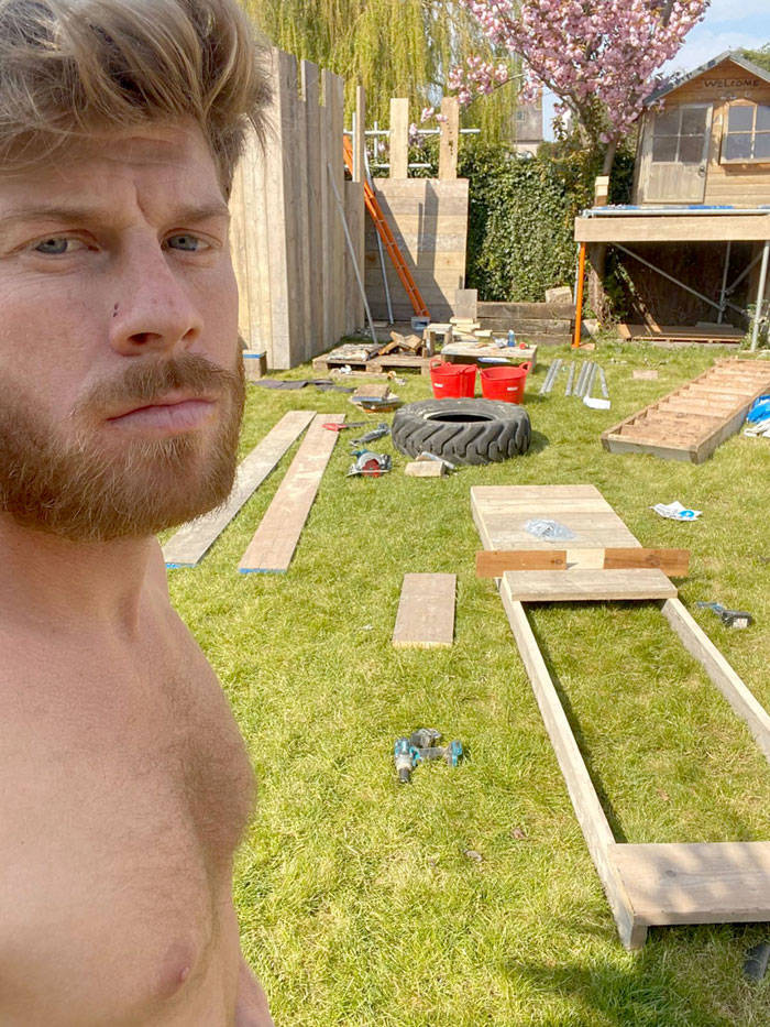 Dad Builds An Impressive Backyard Fortress For His Kids