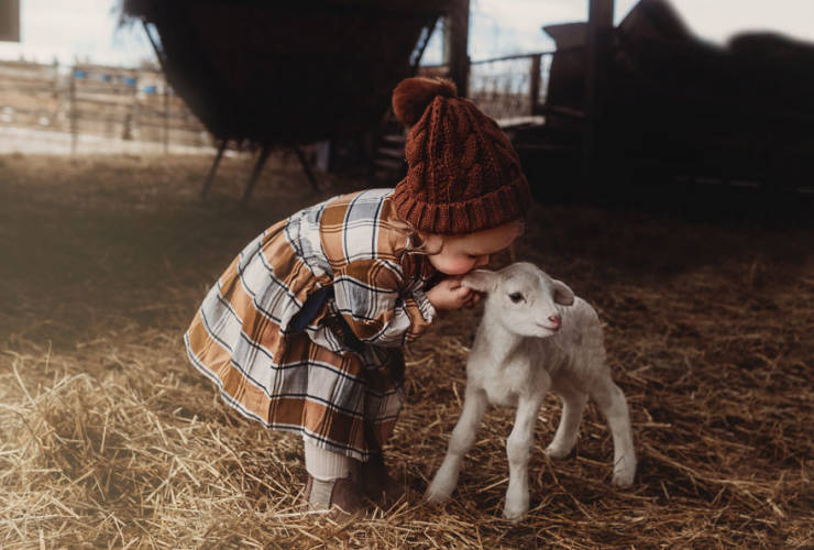 Children With Animals = Maximum Cuteness