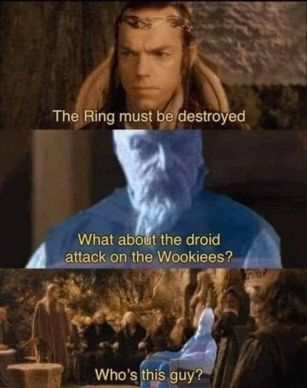 """One Cannot Simply Skip """"Lord Of The Rings"""" Memes"""