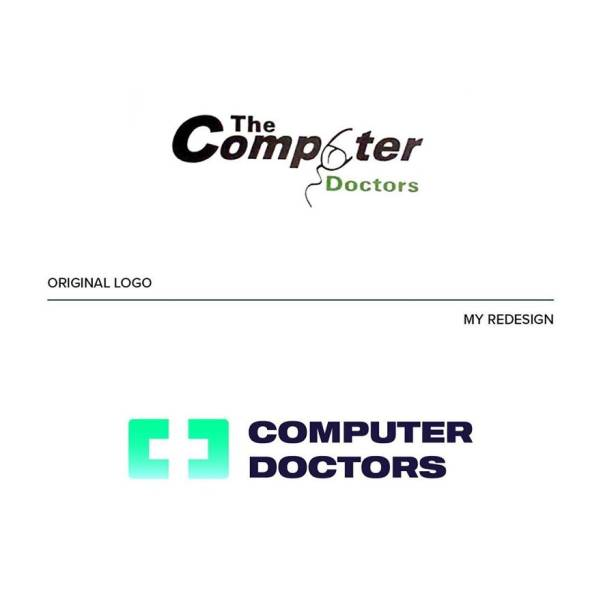 Designer Tries To Reimagine Some Of The World's Worst Logos