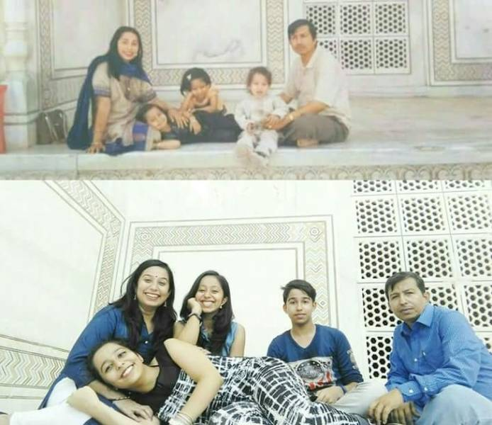 People Go For Childhood Photo Recreations