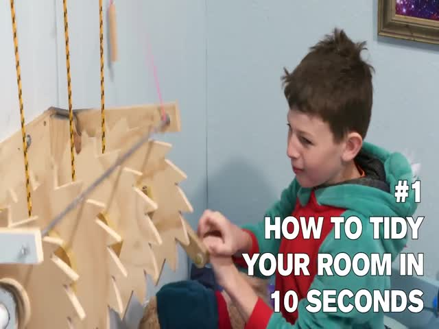 10-Second Cleaning