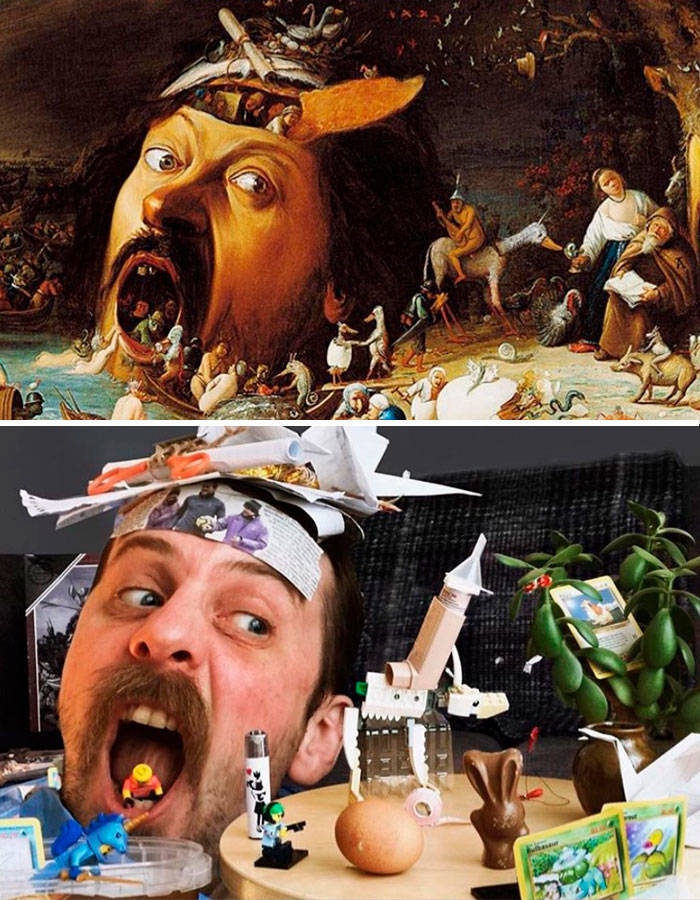 People Are Actually Really Good At Recreating Art!