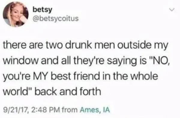 Things Drunks Do…