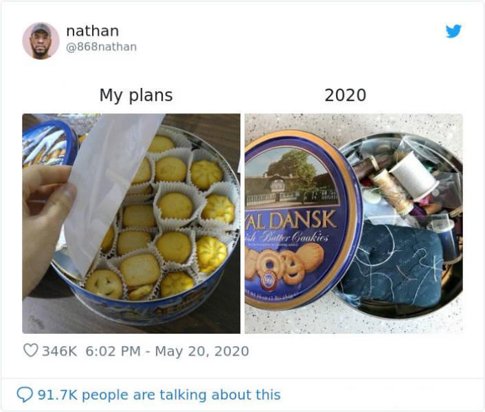 Memes Can't Describe Our Plans Vs. 2020
