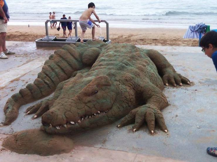 These Incredible Sand Sculptures Look Like They're Alive!