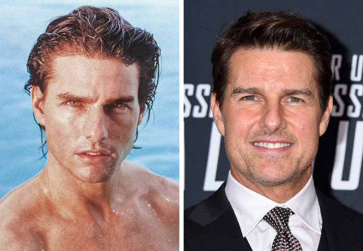 Hot Celebrity Guys From The '90s Back Then Vs. Now
