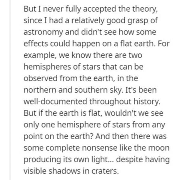 Former Flat Earthers Share Moments Of Their Revelations