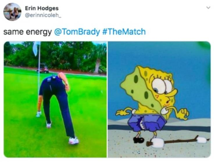 """Hole In (Not) One """"The Match"""" Meme"""