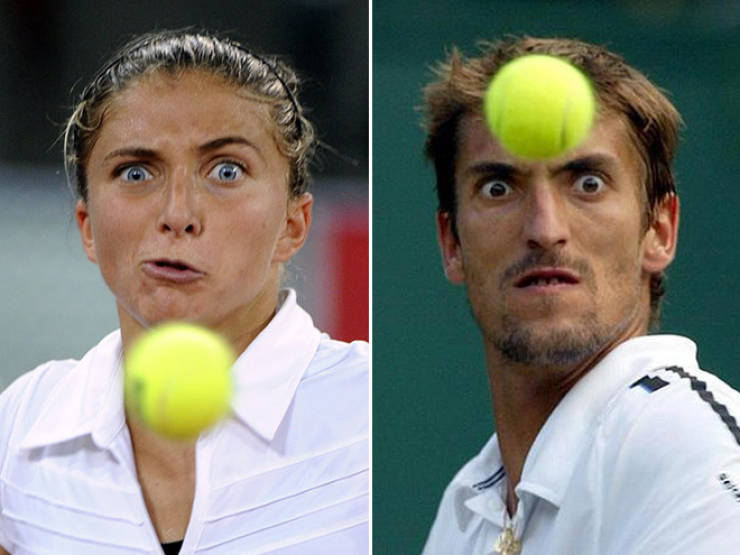 Tennis Is Just A Telekinesis Competition…