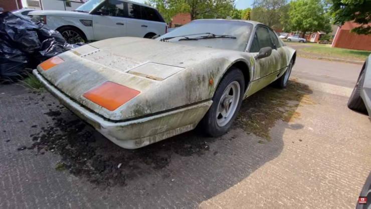 This Sad Ferrari Once Belonged To A Saudi Prince