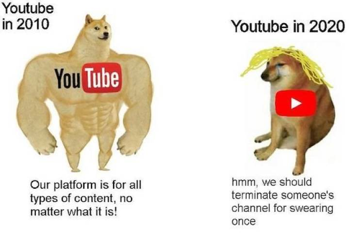 Then Vs. Now, But In Memes