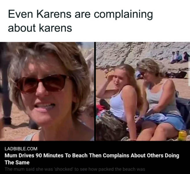 Karens Never Disappear