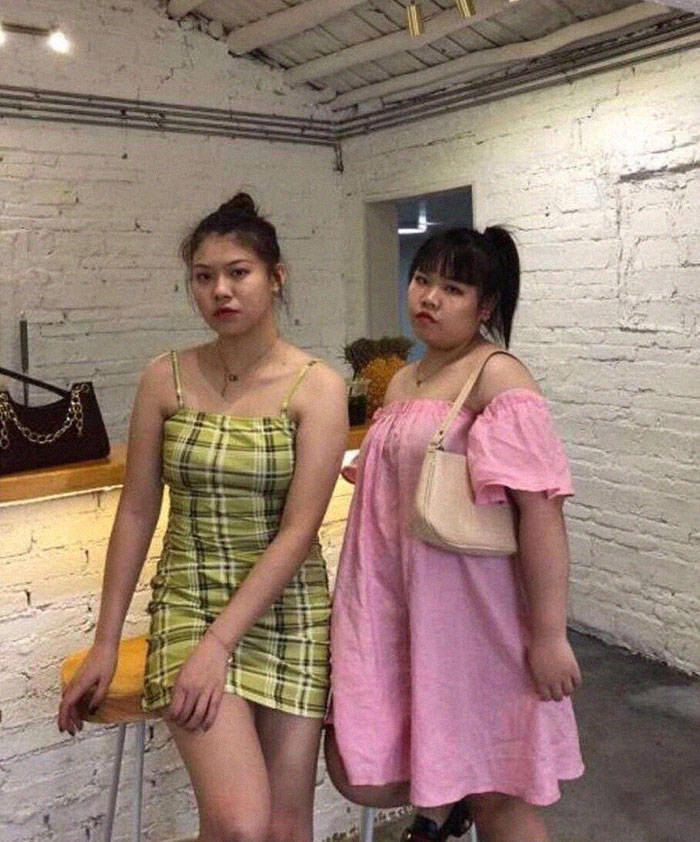 Two Chinese Influencers Show Their Photos Without Editing, And The Difference Is… Well, You'll See