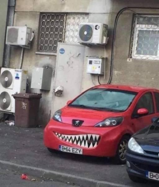 Car Humor Rides At Dawn!