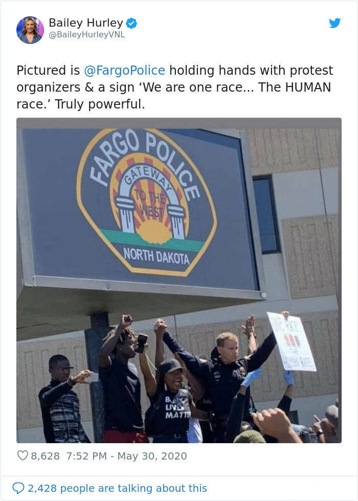 Different Faces Of The George Floyd Protests
