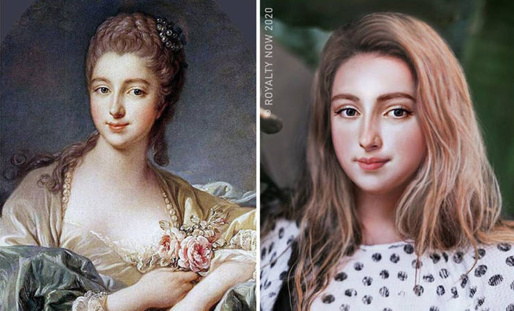 Modern Looks Of Historical Figures