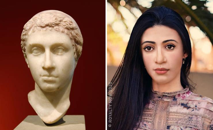 Modern Looks Of Historical Figures