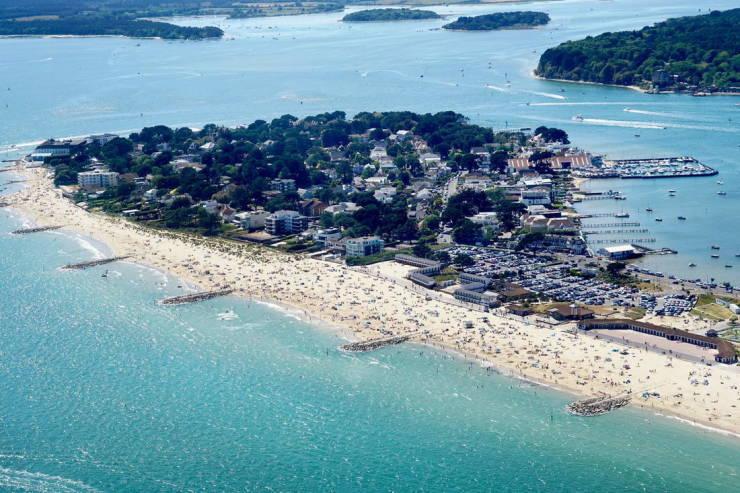 British Luxury Peninsula Is Besieged By Wild Tourists