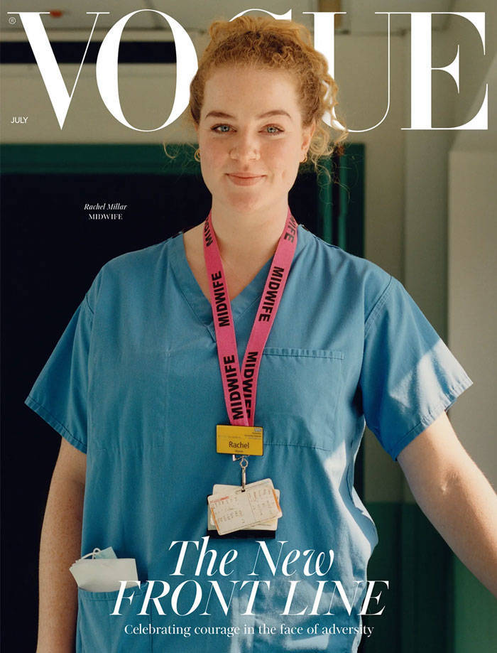 "New ""Vogue"" Features Essential Workers Instead Of Celebrities"