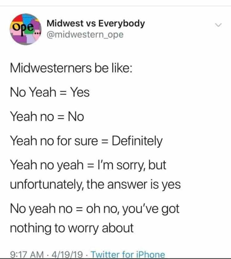 US Middle West Appreciates These Memes