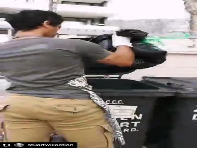 Stunt Crew Shows A Professional Quarantine Fight Challenge